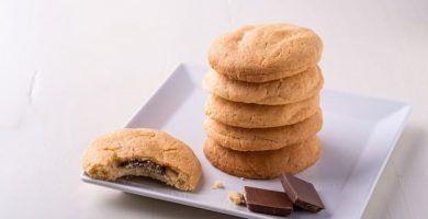 receta de galletas de chocolate y mantequilla