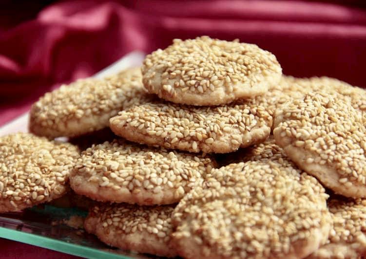 receta de galletas de ajonjolí