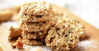 receta de galletas de avena y frutas secas