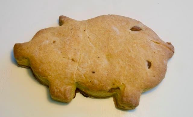 receta de pan en forma de cochinitos