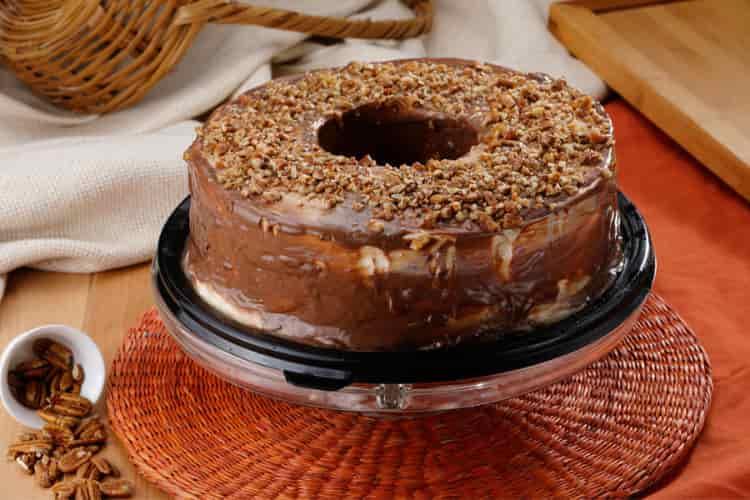 receta de pastel de chocolate con cajeta