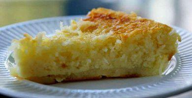 receta de pastel de limon
