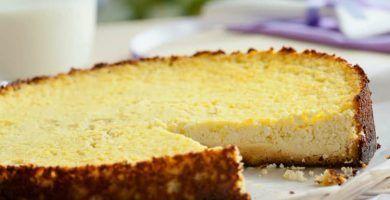 receta de pastel dietetico