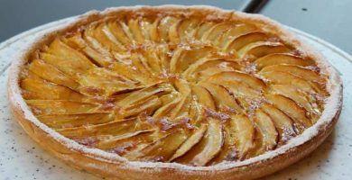 receta de pay de manzana