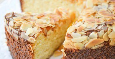 pastel de almendras y ricotta sin harina 1