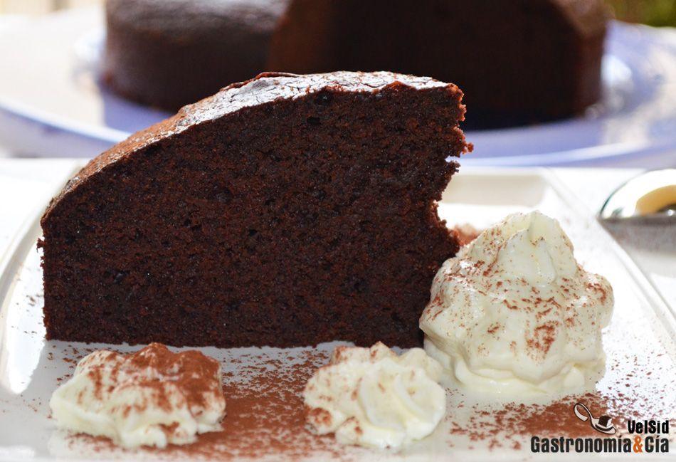 plumcake de chocolate amargo receta