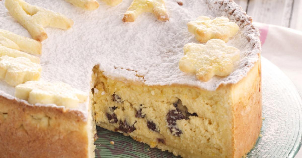 receta de tarta de ricotta y chocolate suave