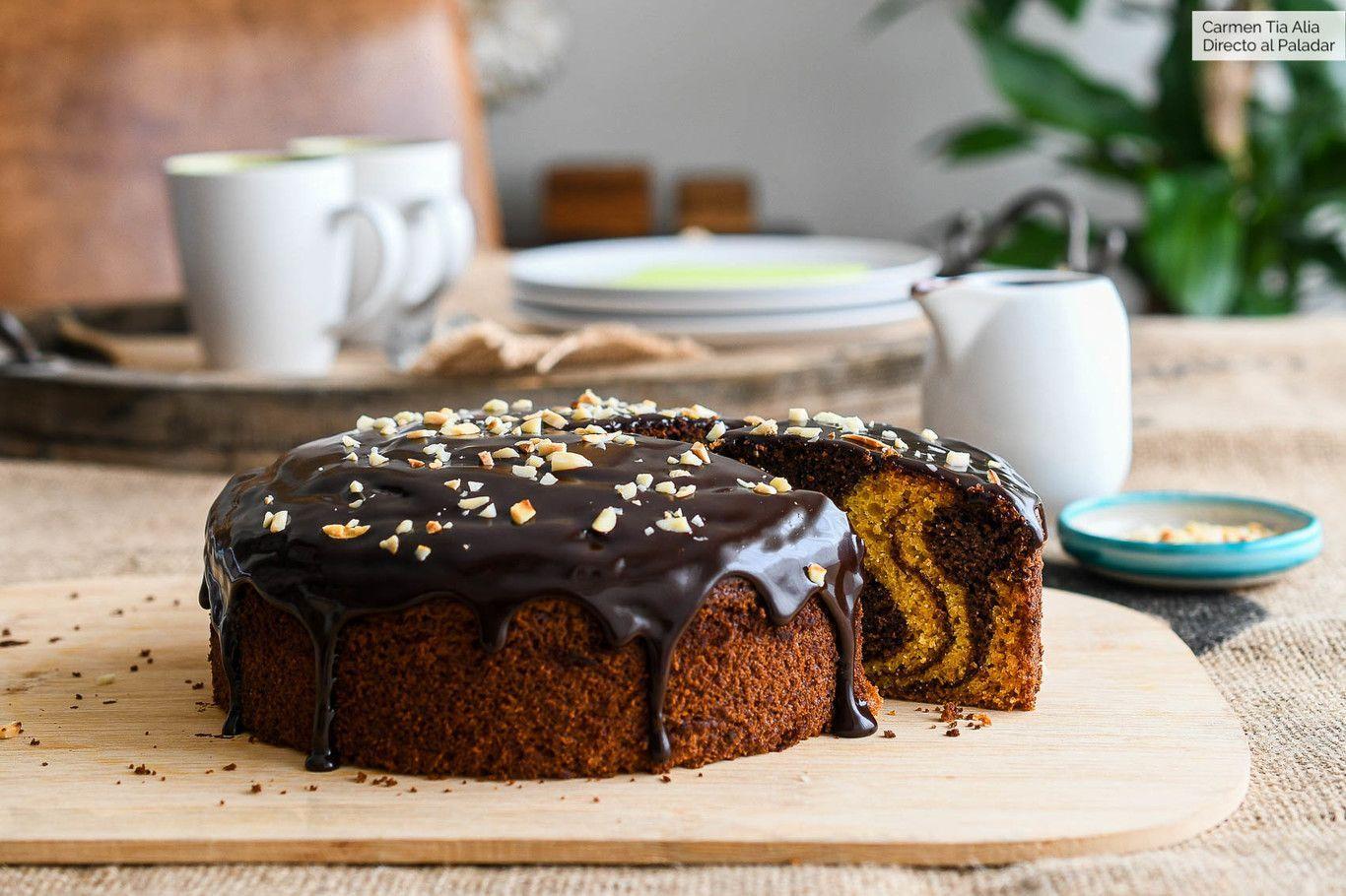 receta rapida de chocolate con calabaza y calabacin