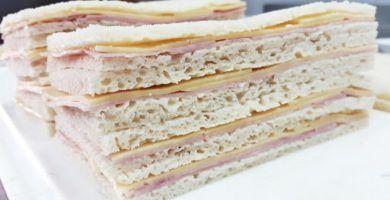sandwiches de crema esponjosos