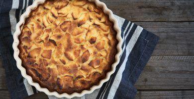 tarta de manzana y mermelada receta blanda