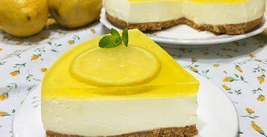 tarta de queso con limon sin receta para cocinar